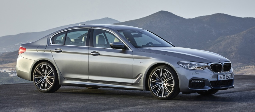 G30 BMW 5 Series unveiled – market debut in Feb 2017 Image #562863