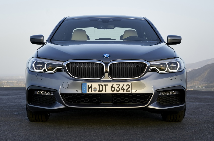 G30 BMW 5 Series unveiled – market debut in Feb 2017 Image #562884