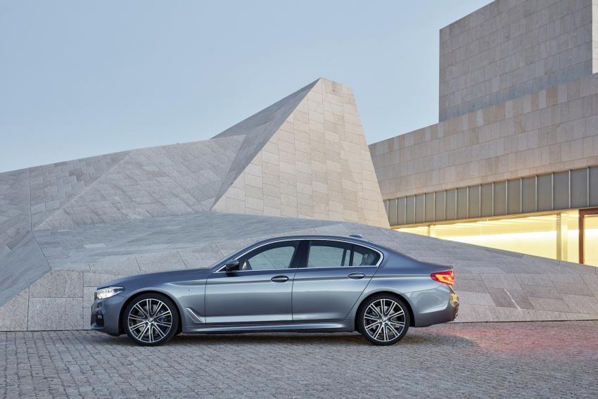 G30 BMW 5 Series diperkenal – di pasaran Feb 2017 Image #563233