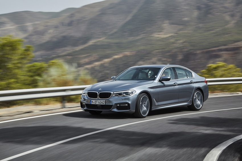 G30 BMW 5 Series unveiled – market debut in Feb 2017 Image #562886