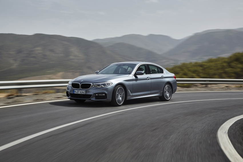 G30 BMW 5 Series unveiled – market debut in Feb 2017 Image #562887