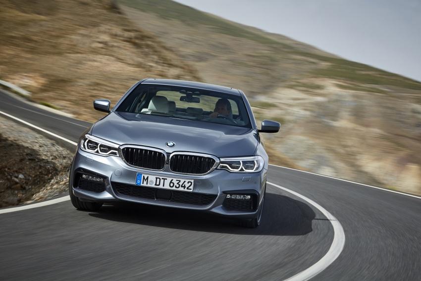 G30 BMW 5 Series diperkenal – di pasaran Feb 2017 Image #563231