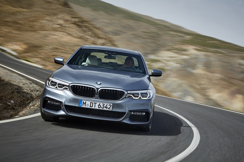 G30 BMW 5 Series unveiled – market debut in Feb 2017 Image #562888