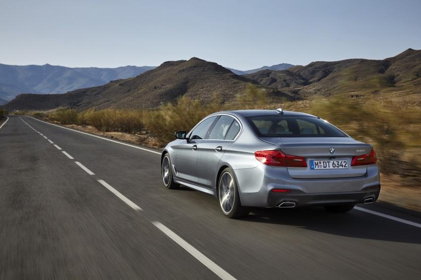 G30 BMW 5 Series diperkenal – di pasaran Feb 2017 Image #563230