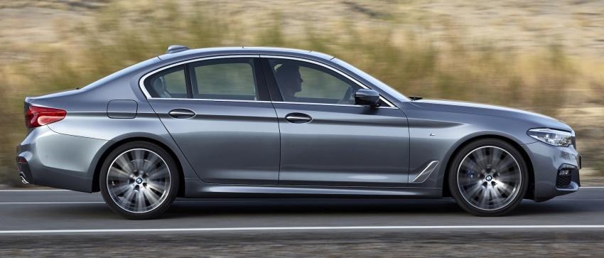 G30 BMW 5 Series diperkenal – di pasaran Feb 2017 Image #563229