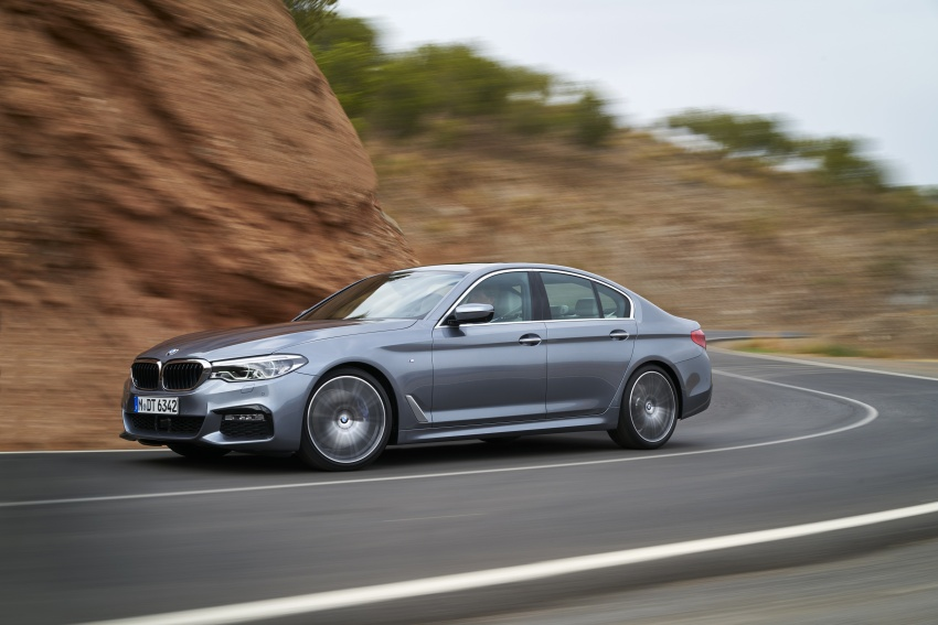 G30 BMW 5 Series unveiled – market debut in Feb 2017 Image #562893