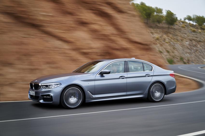 G30 BMW 5 Series diperkenal – di pasaran Feb 2017 Image #563227