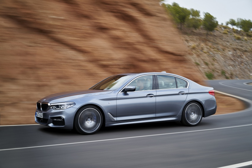G30 BMW 5 Series unveiled – market debut in Feb 2017 Image #562894
