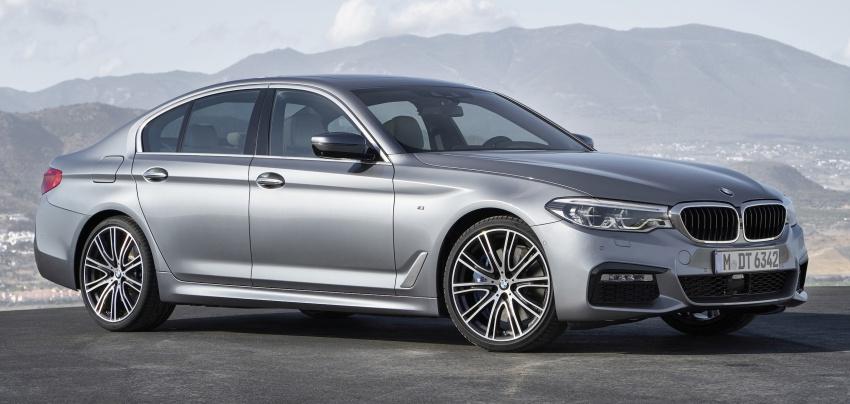 G30 BMW 5 Series diperkenal – di pasaran Feb 2017 Image #563253