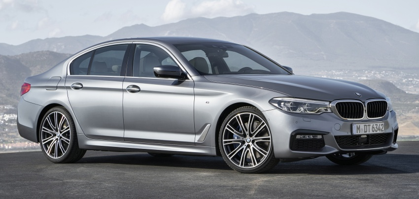 G30 BMW 5 Series unveiled – market debut in Feb 2017 Image #562864