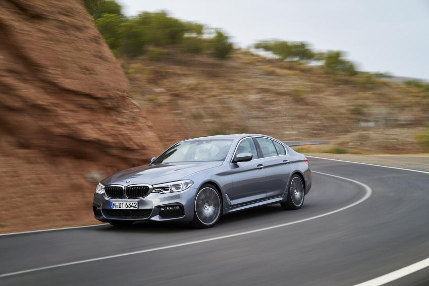 G30 BMW 5 Series diperkenal – di pasaran Feb 2017 Image #563226
