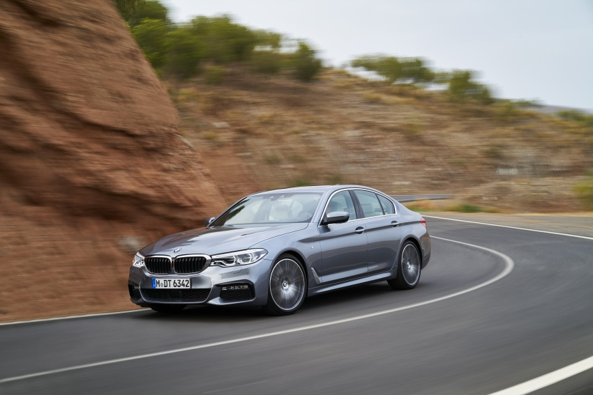 G30 BMW 5 Series unveiled – market debut in Feb 2017 Image #562896
