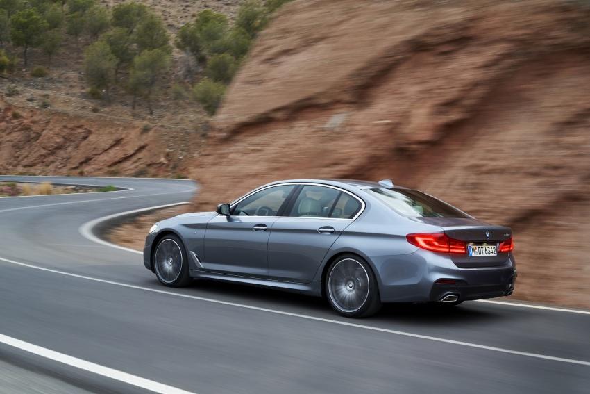 G30 BMW 5 Series diperkenal – di pasaran Feb 2017 Image #563223