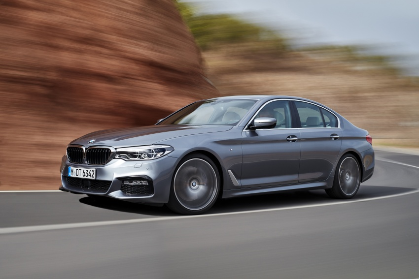 G30 BMW 5 Series unveiled – market debut in Feb 2017 Image #562899
