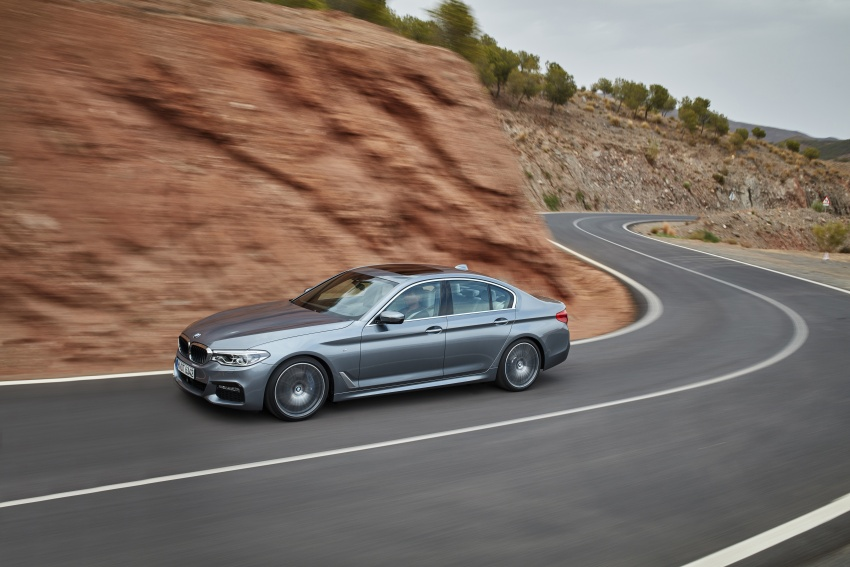 G30 BMW 5 Series unveiled – market debut in Feb 2017 Image #562901