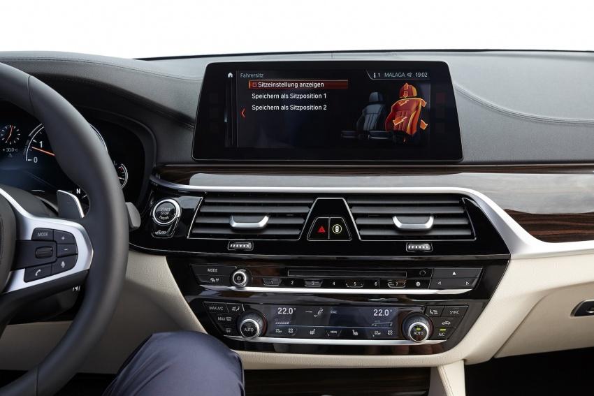 G30 BMW 5 Series diperkenal – di pasaran Feb 2017 Image #563219