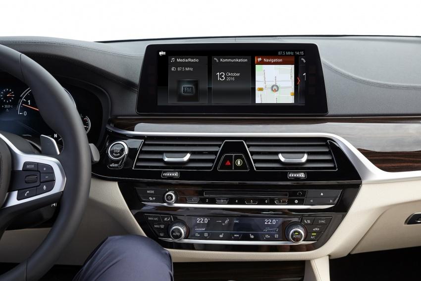 G30 BMW 5 Series diperkenal – di pasaran Feb 2017 Image #563220