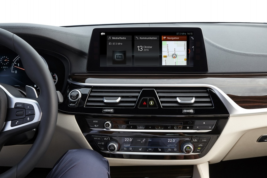 G30 BMW 5 Series unveiled – market debut in Feb 2017 Image #562904