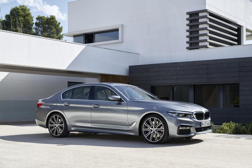 G30 BMW 5 Series diperkenal – di pasaran Feb 2017 Image #563250