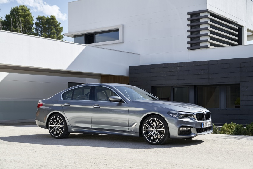 G30 BMW 5 Series unveiled – market debut in Feb 2017 Image #562866