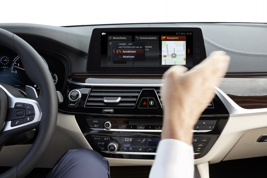 G30 BMW 5 Series unveiled – market debut in Feb 2017 Image #562908