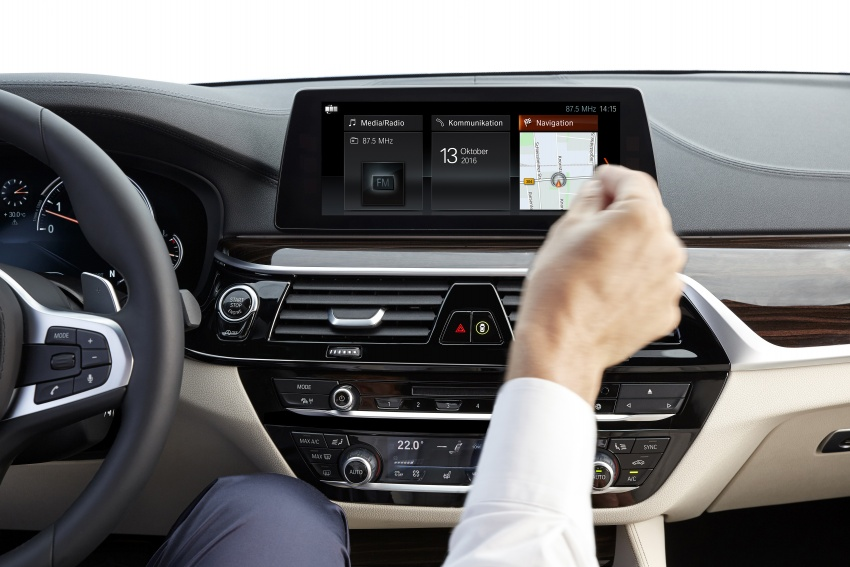 G30 BMW 5 Series unveiled – market debut in Feb 2017 Image #562909