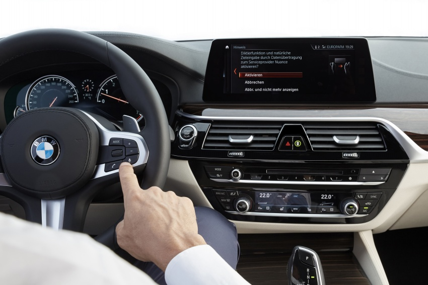 G30 BMW 5 Series unveiled – market debut in Feb 2017 Image #562910