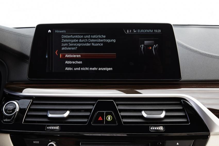 G30 BMW 5 Series diperkenal – di pasaran Feb 2017 Image #563217