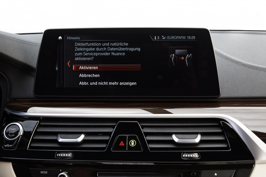 G30 BMW 5 Series unveiled – market debut in Feb 2017 Image #562911