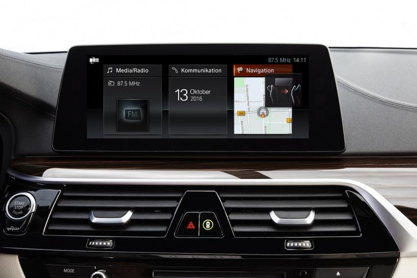 G30 BMW 5 Series diperkenal – di pasaran Feb 2017 Image #563218