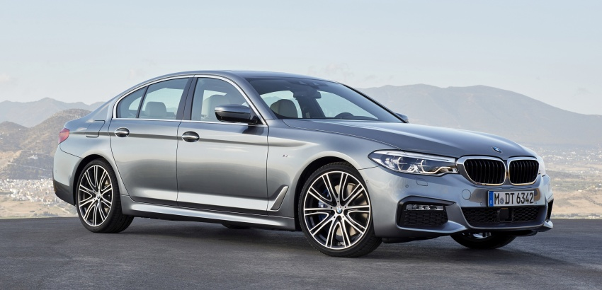 G30 BMW 5 Series unveiled – market debut in Feb 2017 Image #562867