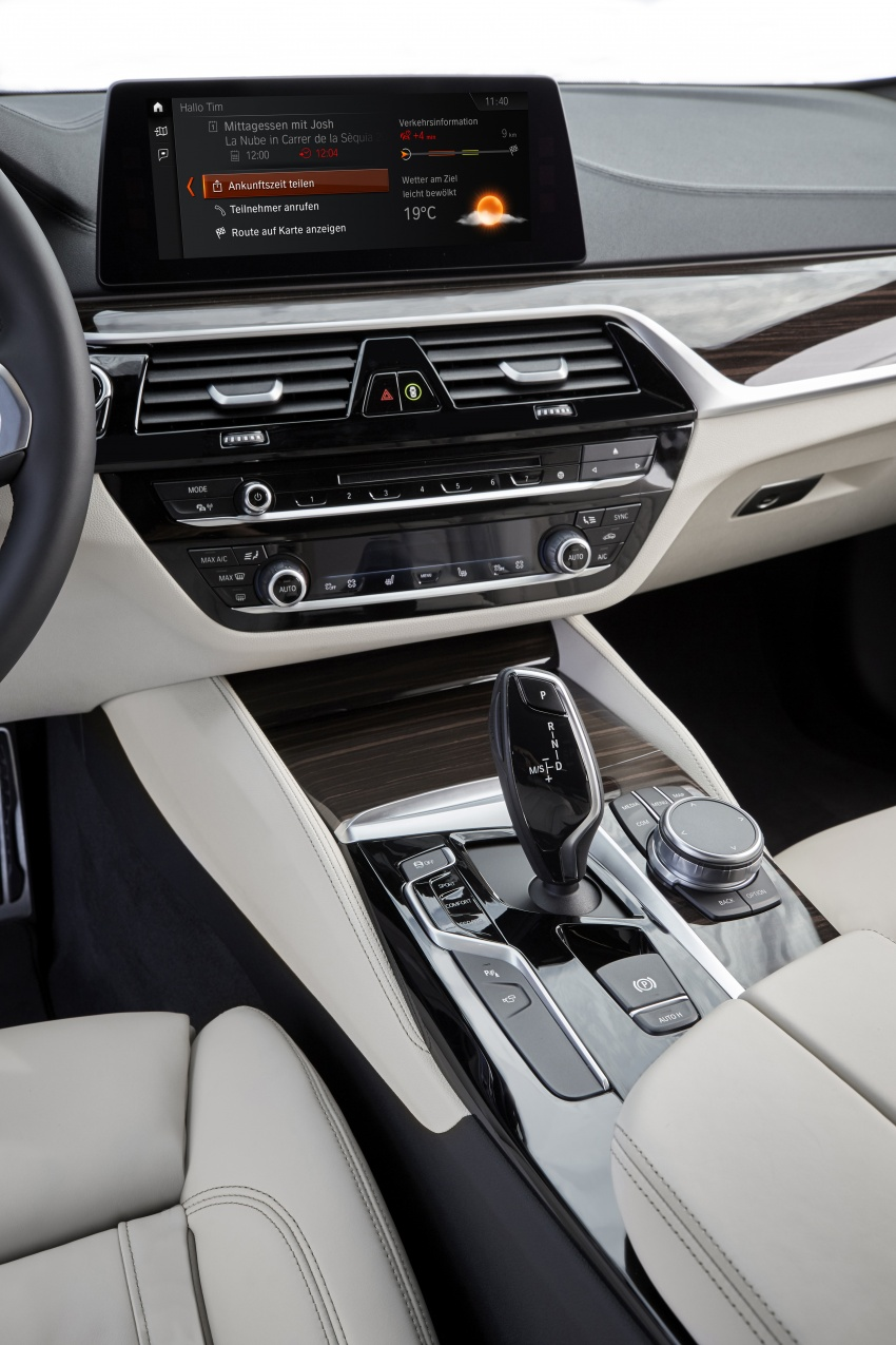 G30 BMW 5 Series unveiled – market debut in Feb 2017 Image #562917