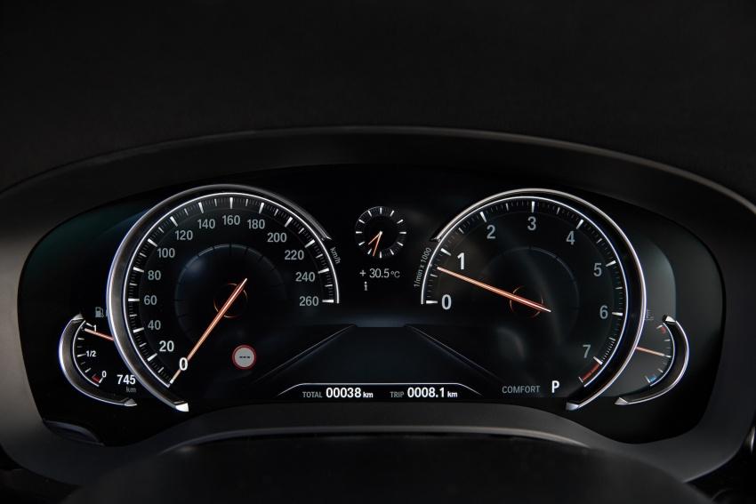 G30 BMW 5 Series diperkenal – di pasaran Feb 2017 Image #563213