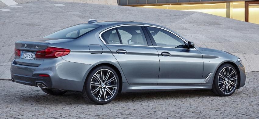 G30 BMW 5 Series diperkenal – di pasaran Feb 2017 Image #563249