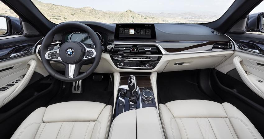 G30 BMW 5 Series diperkenal – di pasaran Feb 2017 Image #563207