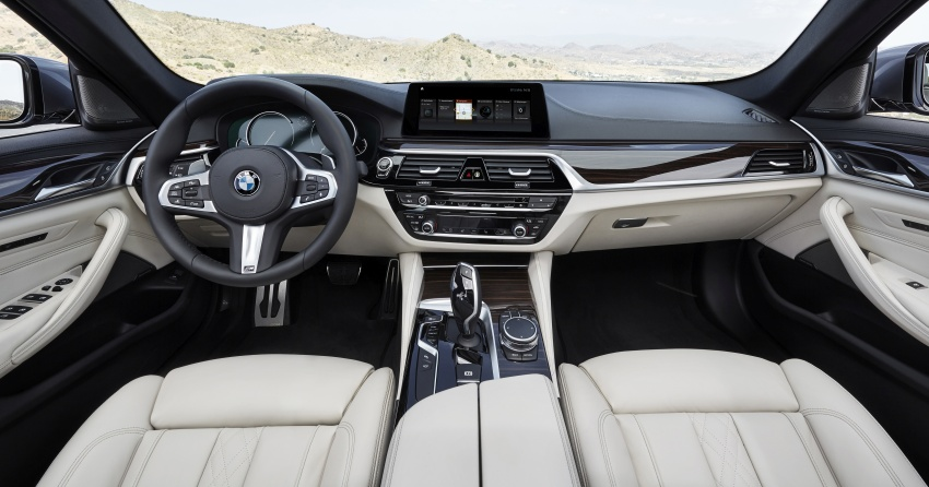 G30 BMW 5 Series unveiled – market debut in Feb 2017 Image #562927