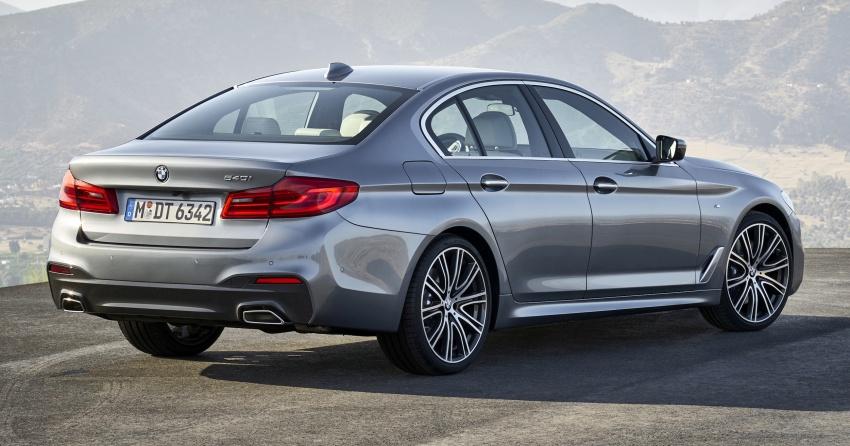 G30 BMW 5 Series diperkenal – di pasaran Feb 2017 Image #563247