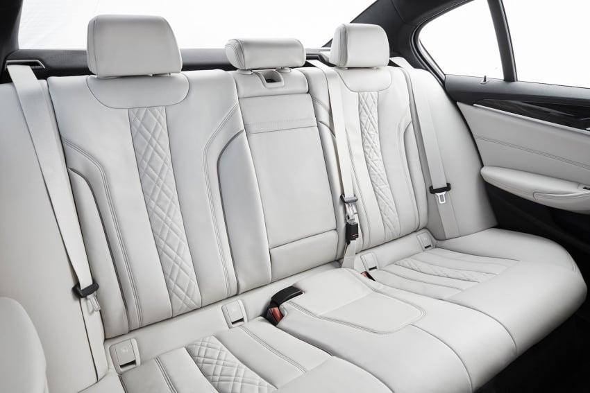 G30 BMW 5 Series diperkenal – di pasaran Feb 2017 Image #563201