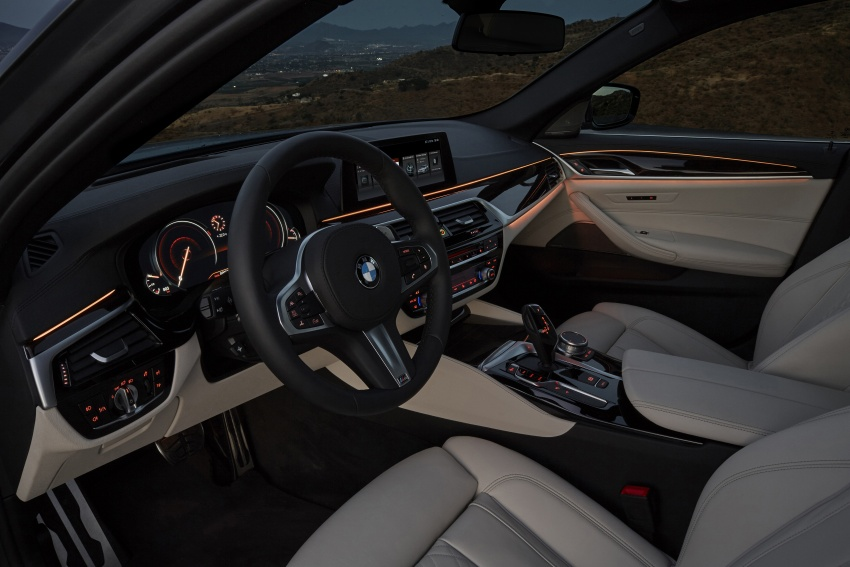 G30 BMW 5 Series unveiled – market debut in Feb 2017 Image #562938