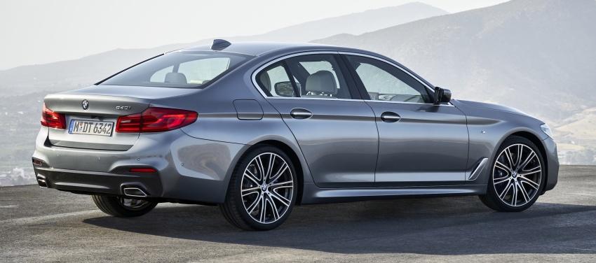 G30 BMW 5 Series diperkenal – di pasaran Feb 2017 Image #563244
