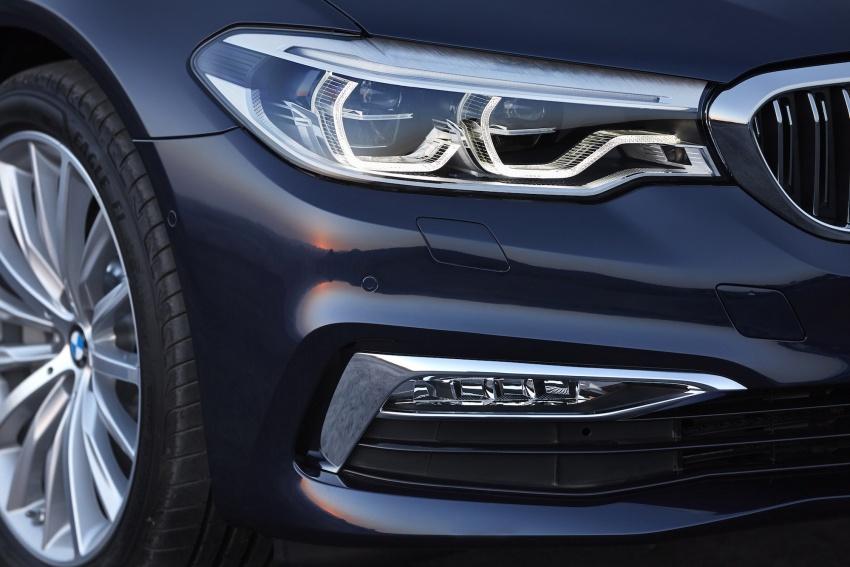 G30 BMW 5 Series diperkenal – di pasaran Feb 2017 Image #563187