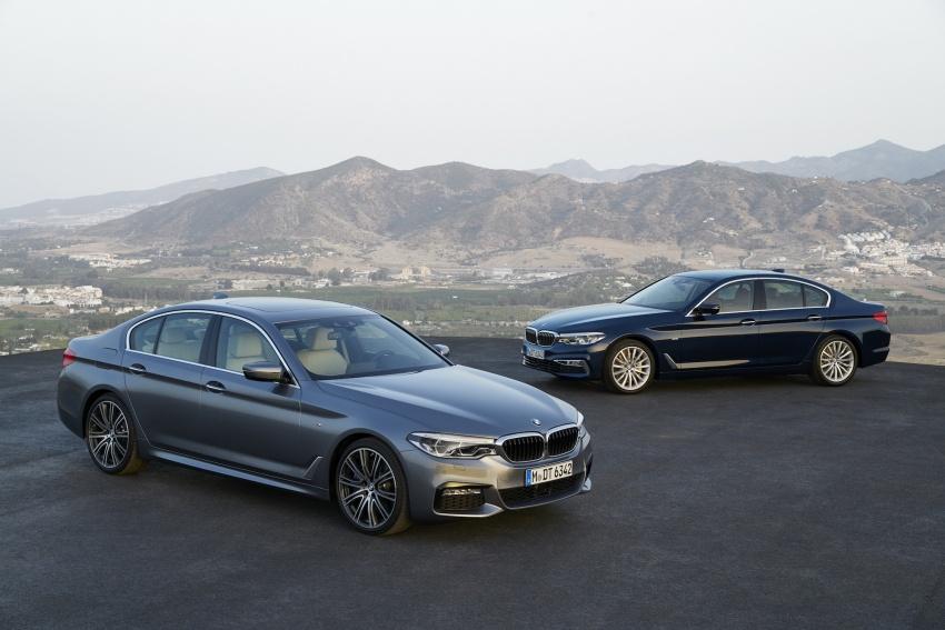 G30 BMW 5 Series diperkenal – di pasaran Feb 2017 Image #563182