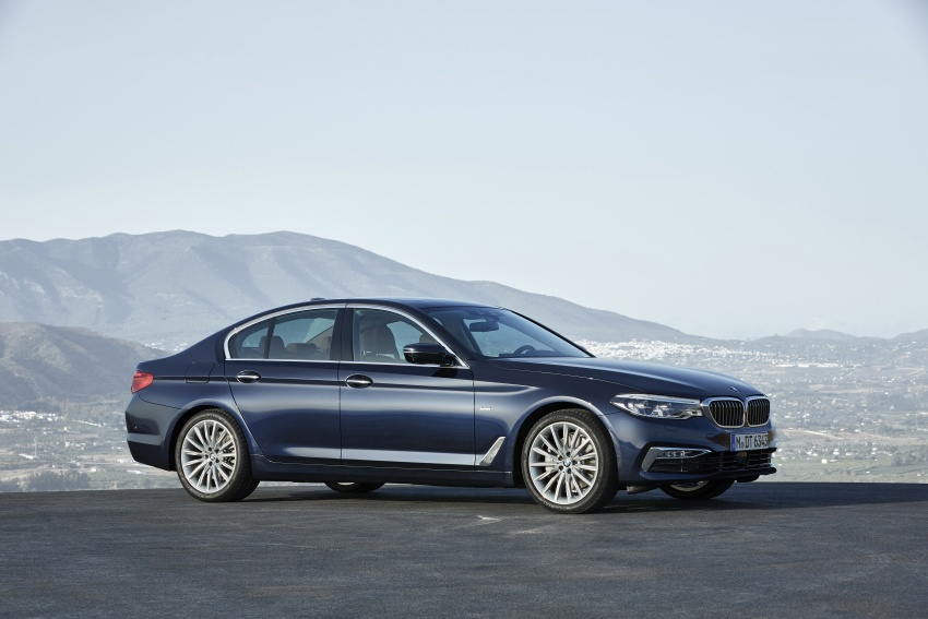 G30 BMW 5 Series unveiled – market debut in Feb 2017 Image #562952