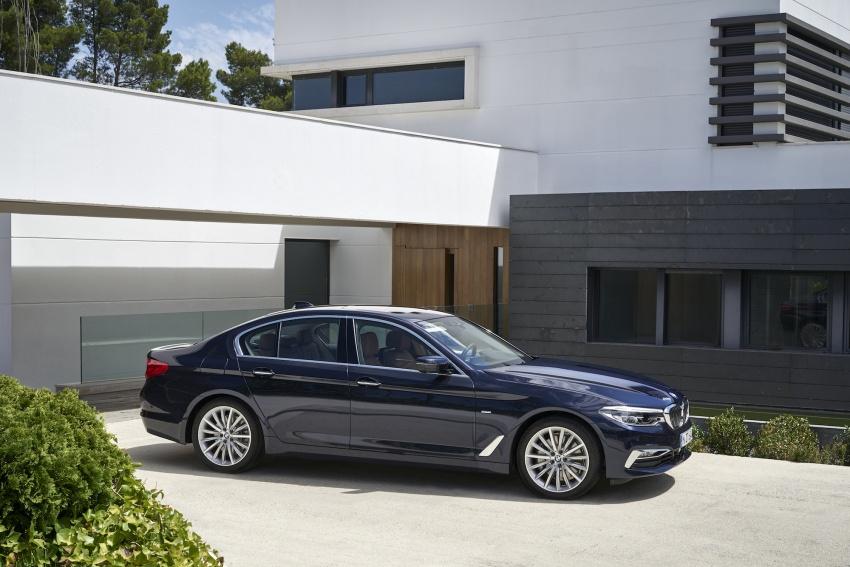 G30 BMW 5 Series diperkenal – di pasaran Feb 2017 Image #563186
