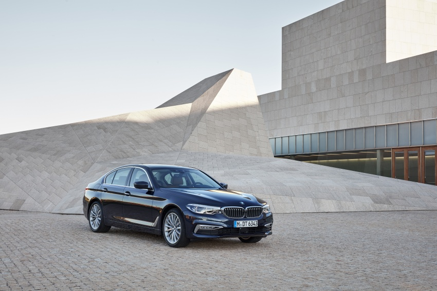 G30 BMW 5 Series unveiled – market debut in Feb 2017 Image #562954
