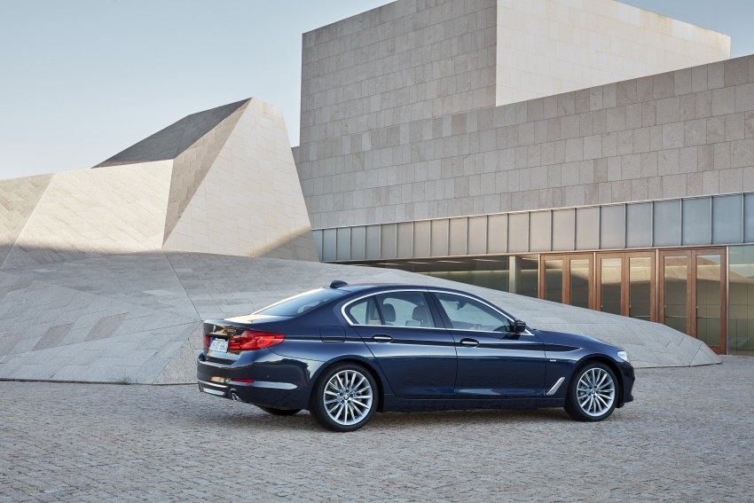 G30 BMW 5 Series unveiled – market debut in Feb 2017 Image #562956