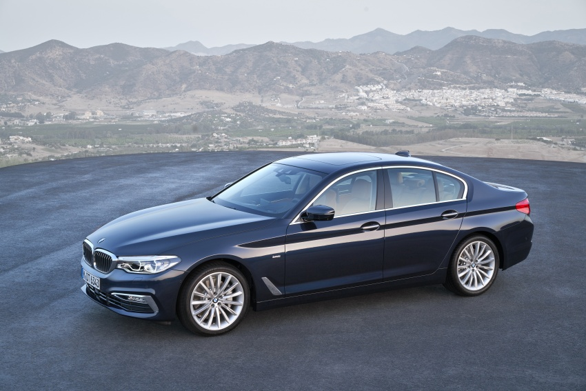 G30 BMW 5 Series unveiled – market debut in Feb 2017 Image #562957