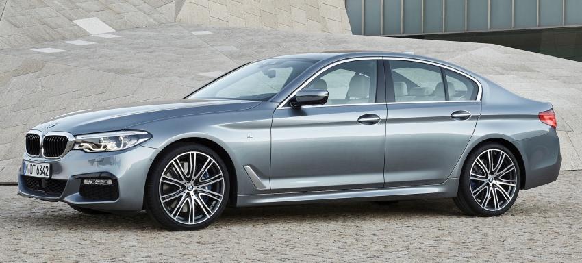 G30 BMW 5 Series diperkenal – di pasaran Feb 2017 Image #563245