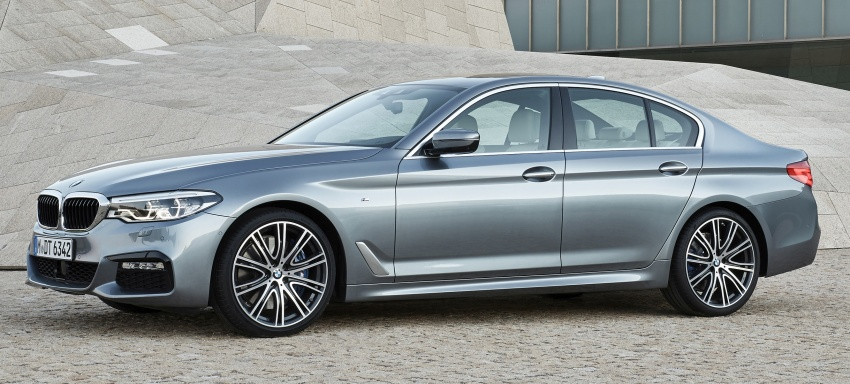 G30 BMW 5 Series unveiled – market debut in Feb 2017 Image #562871