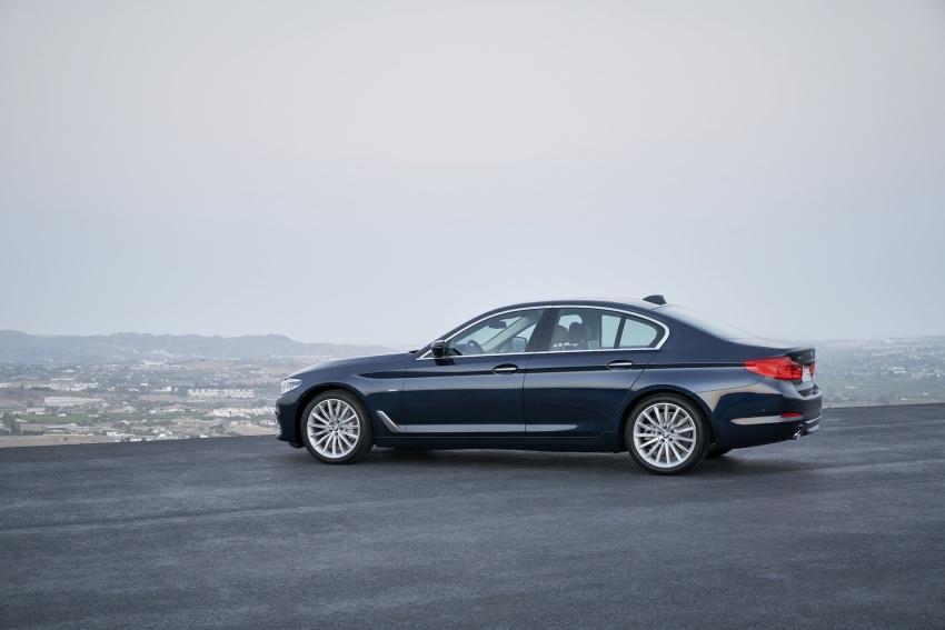 G30 BMW 5 Series diperkenal – di pasaran Feb 2017 Image #563181
